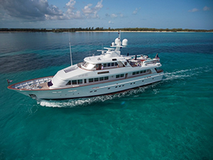 luxury yacht for charter LadyVictoria