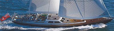 whispers monohull sailer yacht charter